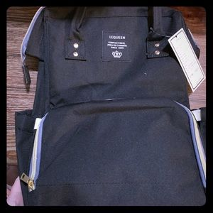 Brand New Black Backpack Diaper Bag